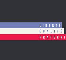 Liberté, Égalité, Fraternité by lesmiztumblr