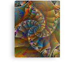 PONG 4 tweak2 -Ccrazy Autumn-abstractjoys + Parameter Metal Print