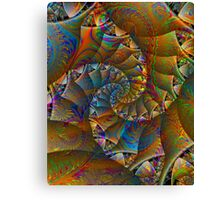 PONG 4 tweak2 -Ccrazy Autumn-abstractjoys + Parameter Canvas Print