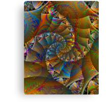 PONG 4 tweak2 -Ccrazy Autumn-abstractjoys + Parameter Canvas Print