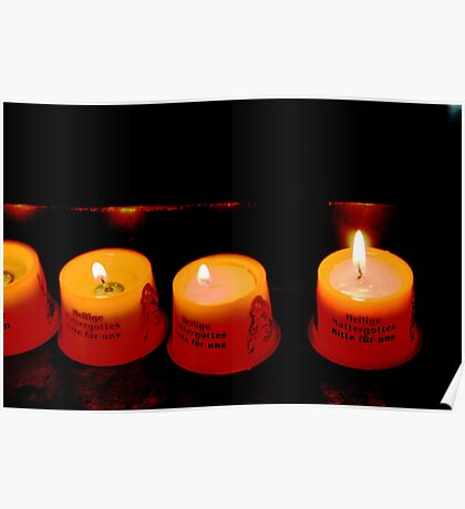 German Candles Poster