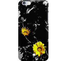 yellow flowers iPhone Case/Skin
