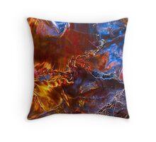 Great Wrath & Vengence - Pietersite Crystal Throw Pillow