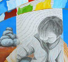 Om Mani Padme Hum by Rebecca Jardin
