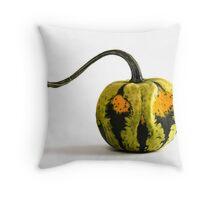 Jack the Gourd  Throw Pillow