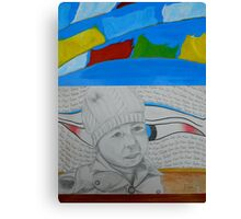 The hitchhiker in Tibet Canvas Print