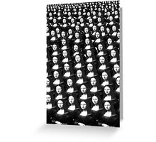 would the real mona please stand up!..... Greeting Card