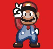 Mario 16 Bit One Piece - Long Sleeve