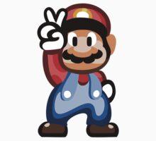 Mario 16 Bit One Piece - Short Sleeve