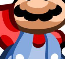 Mario 16 Bit Sticker