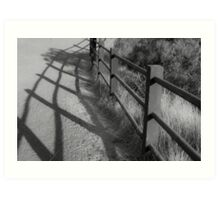 The Fence Between Here and Serenity Art Print