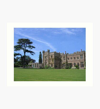 Hampton Court Castle Art Print