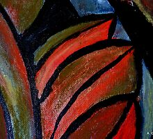 Abstract of Fruit 2 by Angela Gannicott
