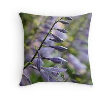 Mays Lake Hostas Throw Pillow