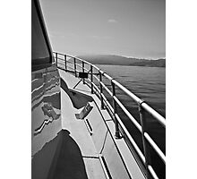 Catalina in the Distance-B&W Photographic Print