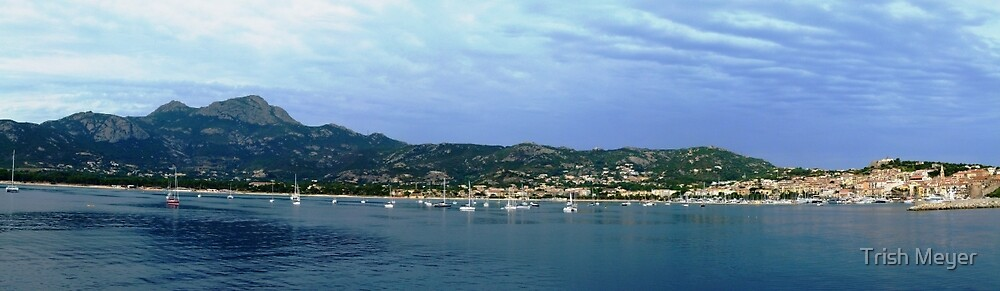 Calvi Panorama by Trish Meyer