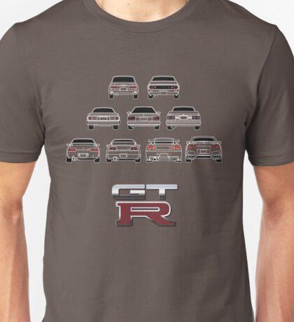 Nissan Skyline White Unisex T-Shirt