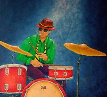 Jazz Drummer by Allegretto