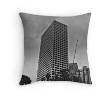 Ominous Skies Over L.A. Throw Pillow