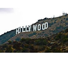 Hollywood Sign - L.A. Photographic Print