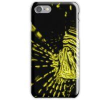 lionfish paint splatter iPhone Case/Skin