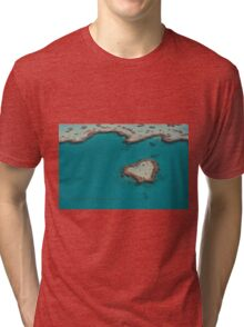 Heart Reef © Vicki Ferrari Tri-blend T-Shirt