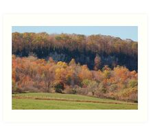 Hillside Splendor Art Print