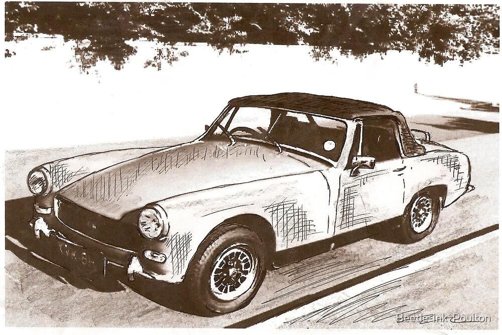 Midget motoring by Sharon Poulton