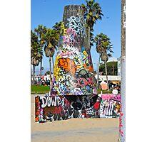 Graffiti Cone  II - Venice Beach, CA Photographic Print