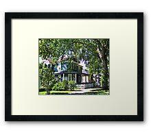 Old Kalispell Framed Print