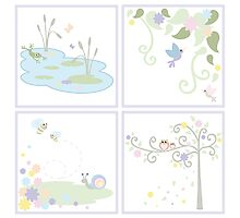 Nature for Baby Girl Photographic Print
