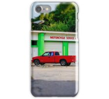 Motorcycle Service iPhone Case/Skin