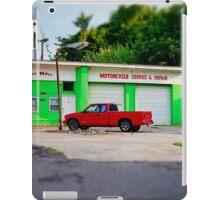 Motorcycle Service iPad Case/Skin
