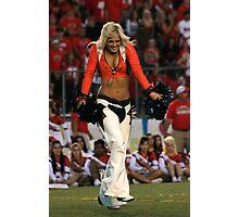 Broncos Cheerleaders In Action Part 1 Photographic Print