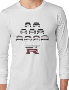 Nissan Skyline Black Long Sleeve T-Shirt
