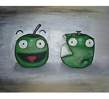 Happy Apple, Sad Apple Photographic Print