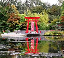 Japanese Garden by Mark Fulvio Bester