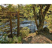 Glacier Autumn 2 (MacDonald Creek) Photographic Print