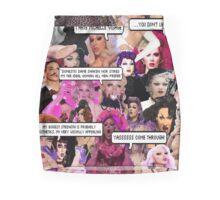 Violet Chachki Collage Mini Skirt