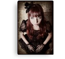 Gothic Lolita Canvas Print