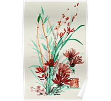 Flowers and Shoots Poster
