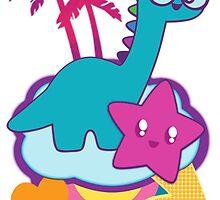 Rainbowsaurus  by Shonuff  Studio