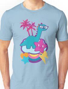 Rainbowsaurus  Unisex T-Shirt