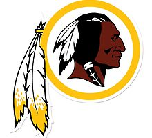 Washington Redskins NFL Logo by kaseys