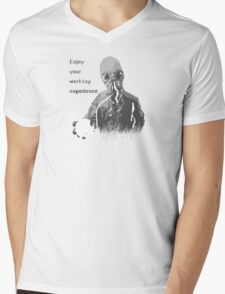 Enjoy Your Workday Experience  Mens V-Neck T-Shirt