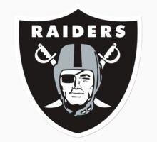 Oakland Raiders NFL Logo Kids Clothes