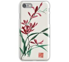 Blossoms and Reeds iPhone Case/Skin