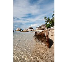 Washed Ashore at Belitung (1/2) Photographic Print