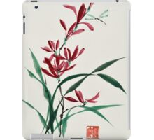 Blossoms and Reeds iPad Case/Skin