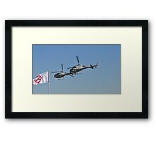 Smokin Duelling 'Copters Framed Print